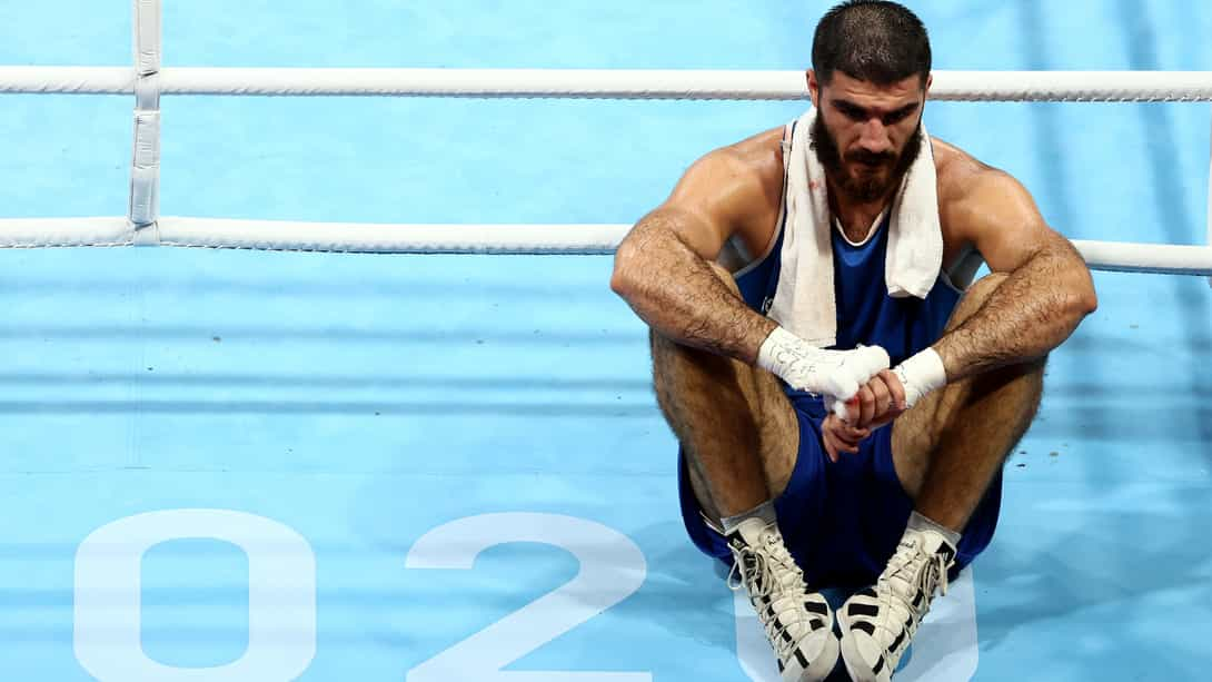 Image for French boxer who staged sit-in loses appeal over disqualification