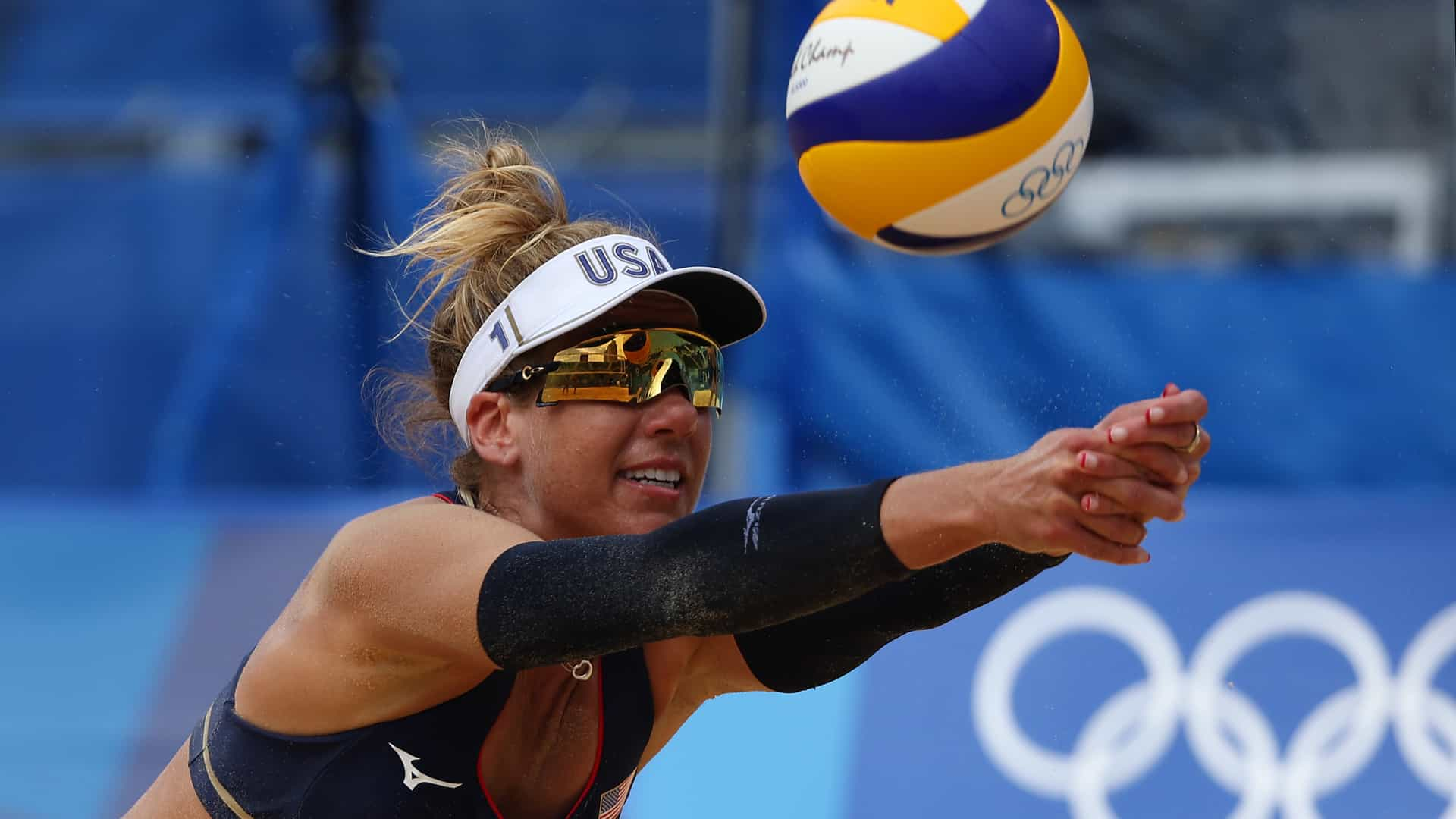 Image for April Ross is beach volleyball's last woman standing with past medals