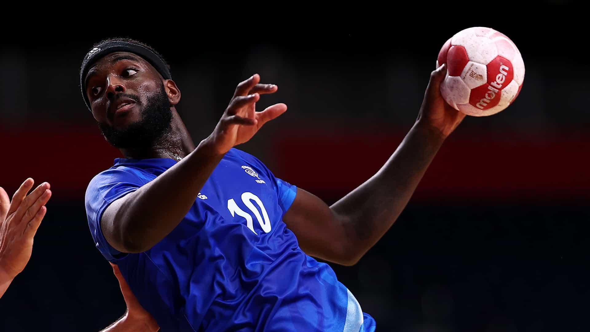 Image for France holds off reigning champion Denmark to take men's handball gold