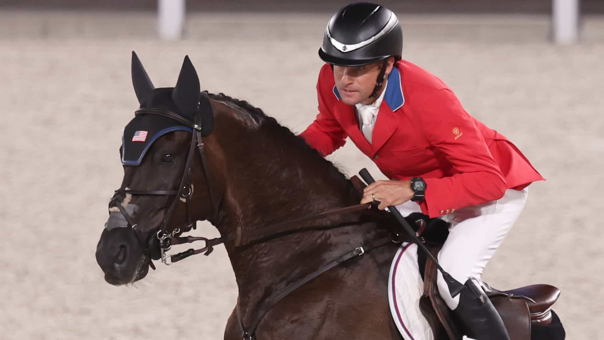 Image for Podcast: Behind the scenes at the Olympic equestrian stables