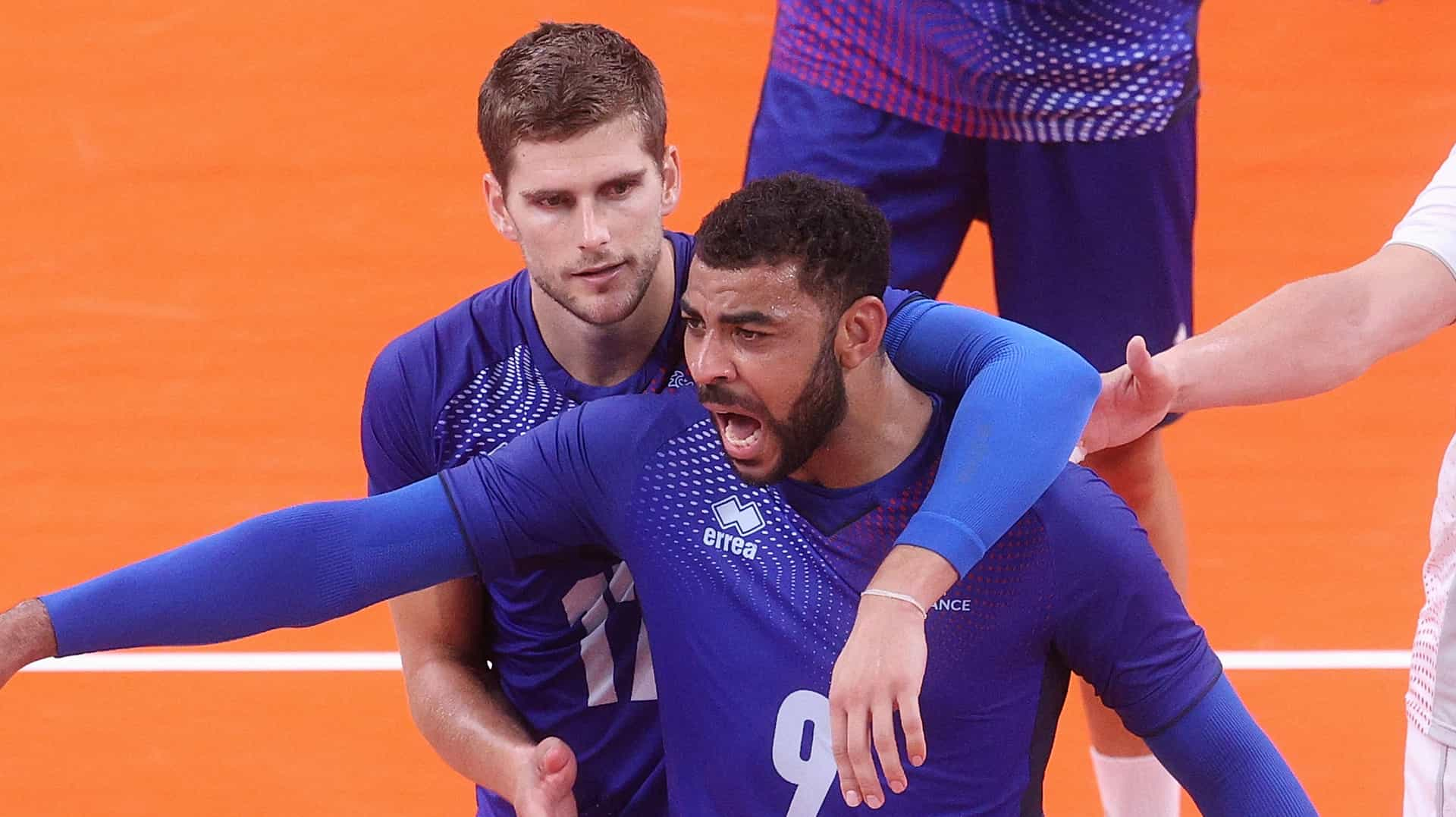 Image for France outlasts ROC to win first men's volleyball gold
