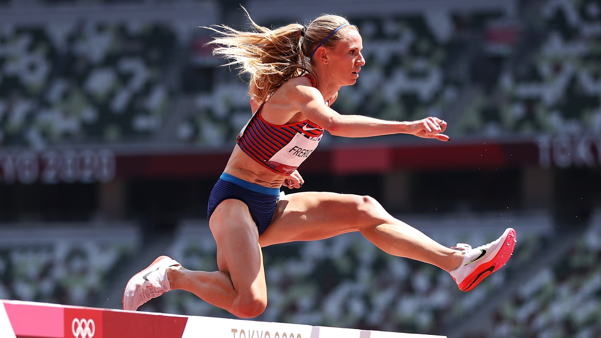 Image for Podcast: What draws runners to the steeplechase?
