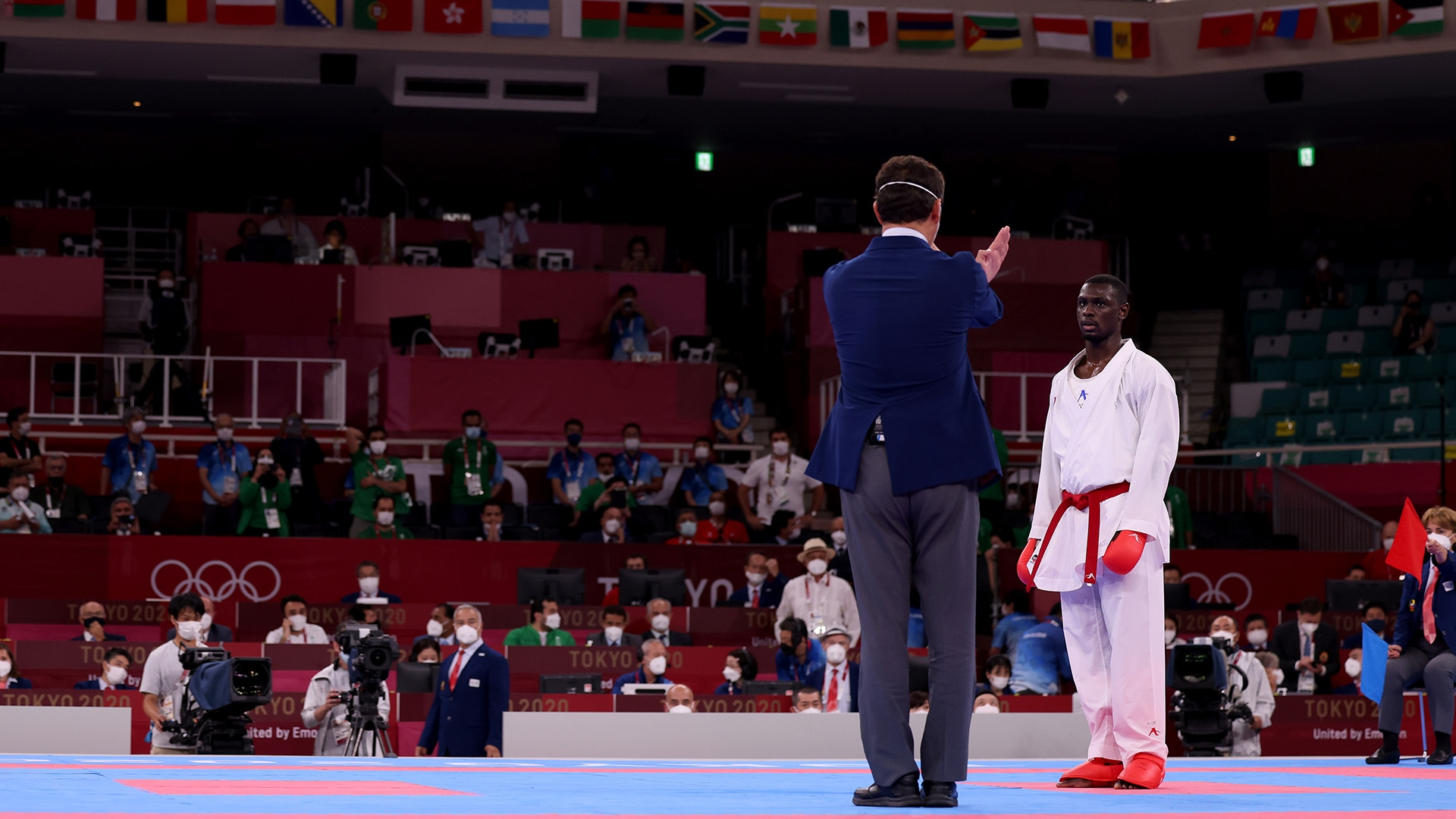 Image for Iran's Ganjzadeh awarded gold as opponent disqualified