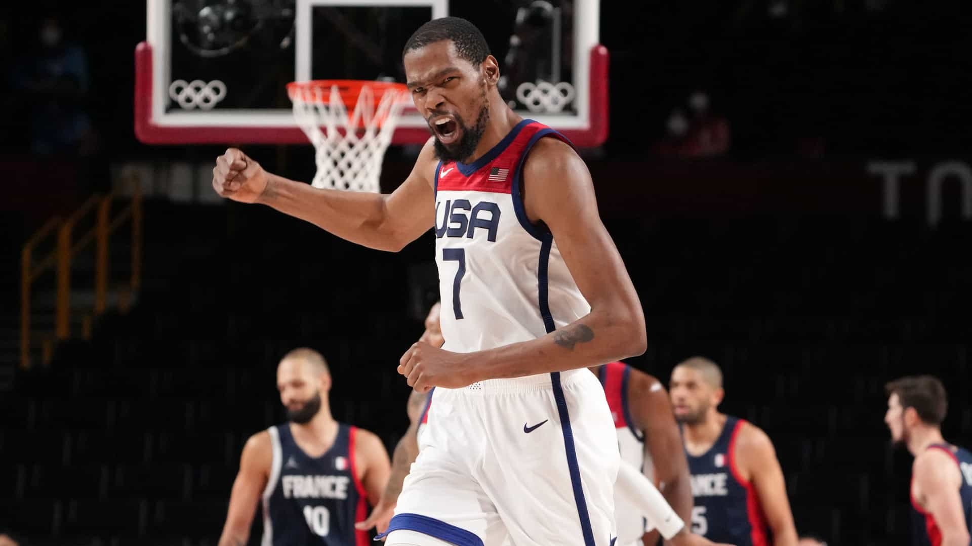 Image for Tokyo Olympics Day 15: Durant does it again