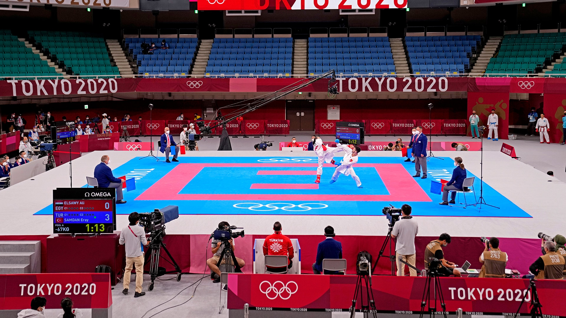 Image for One and done? Karate ponders uncertain Olympic future after Tokyo debut