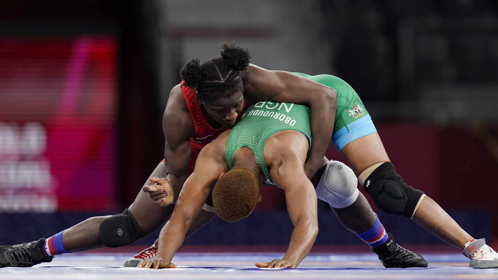 Image for Olympic Wrestling Day 11: USA's Mensah-Stock takes gold