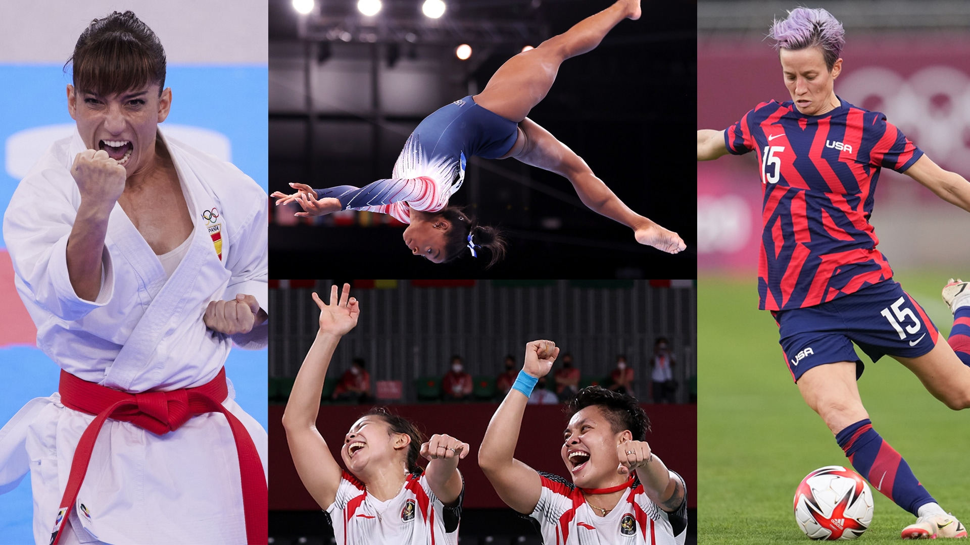 Image for 20 ways women made headlines in the second week of the 2020 Olympics