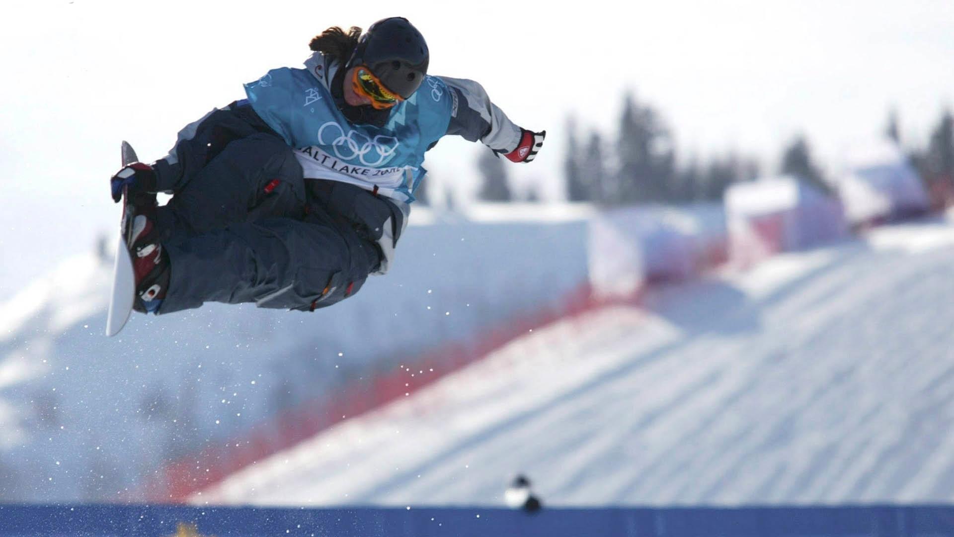 U.S. snowboarder Kelly Clark