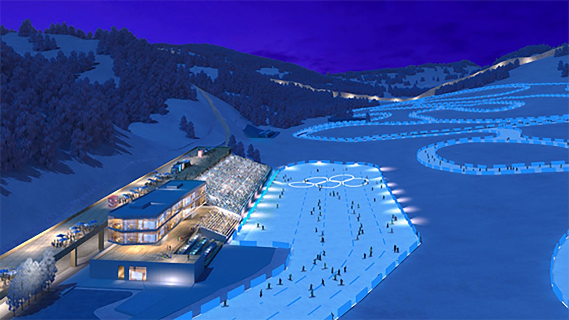 National Cross-Country Ski Center rendering