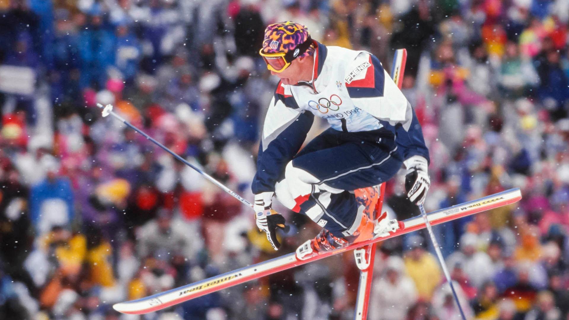 Jonny Moseley at Nagano 1998