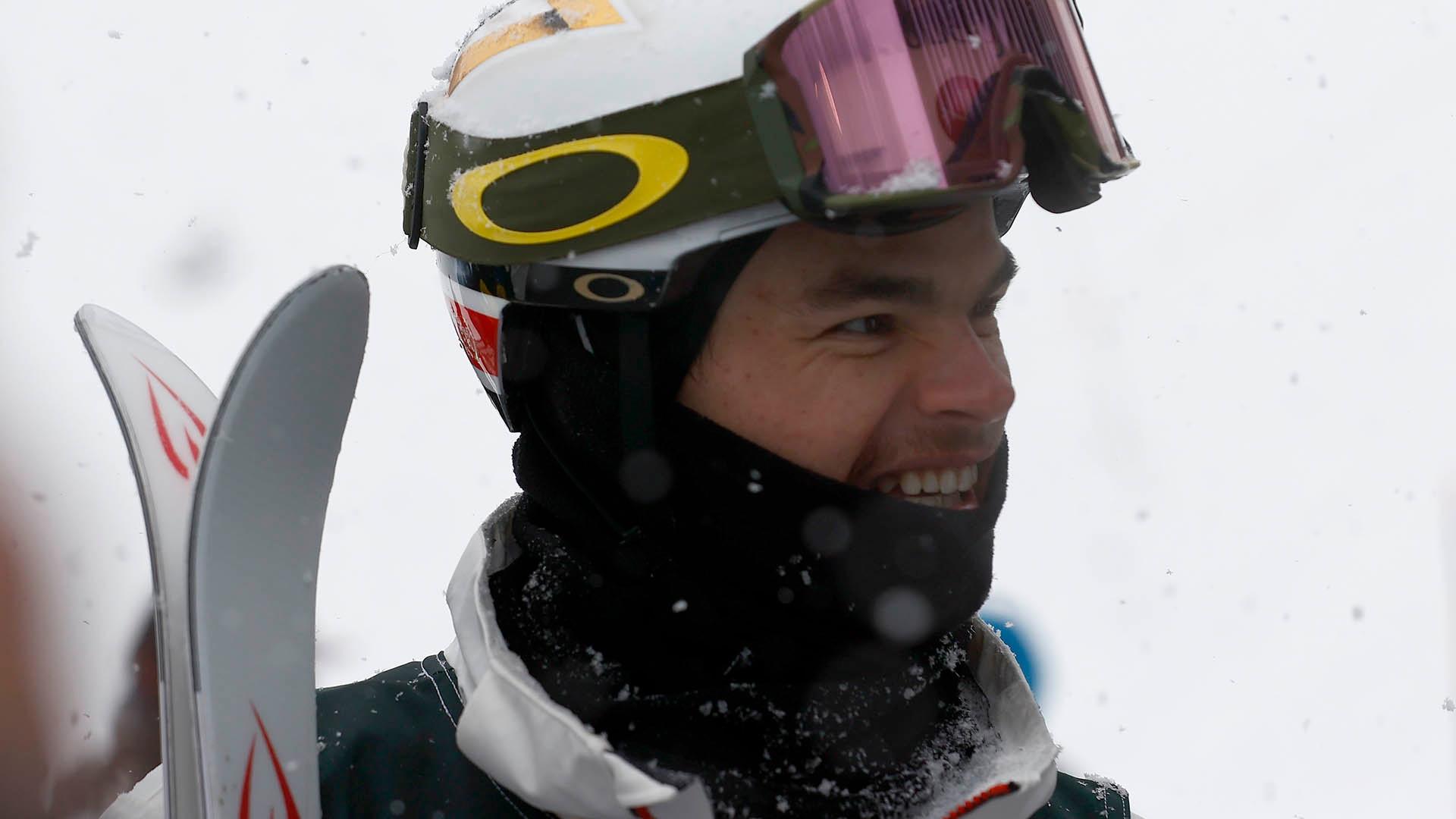 Mikael Kingsbury in February 2021