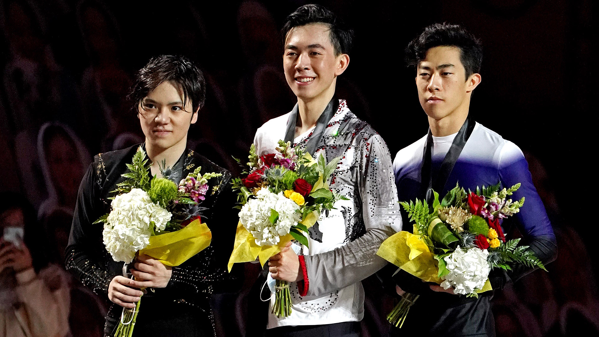 Vincent Zhou scored his first major senior title with a win at Skate America, while Nathan Chen...