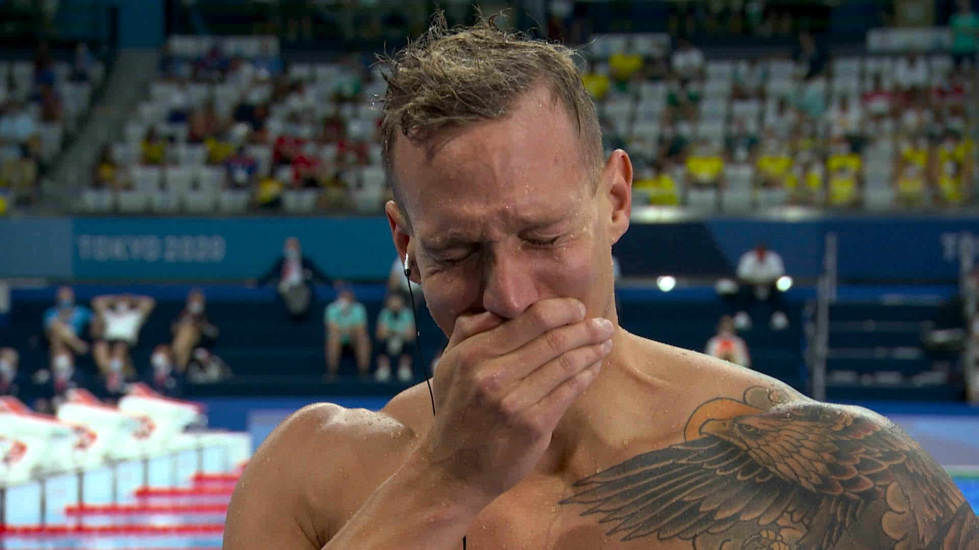 Image for Tears of joy, pain and passion from the Tokyo Olympics
