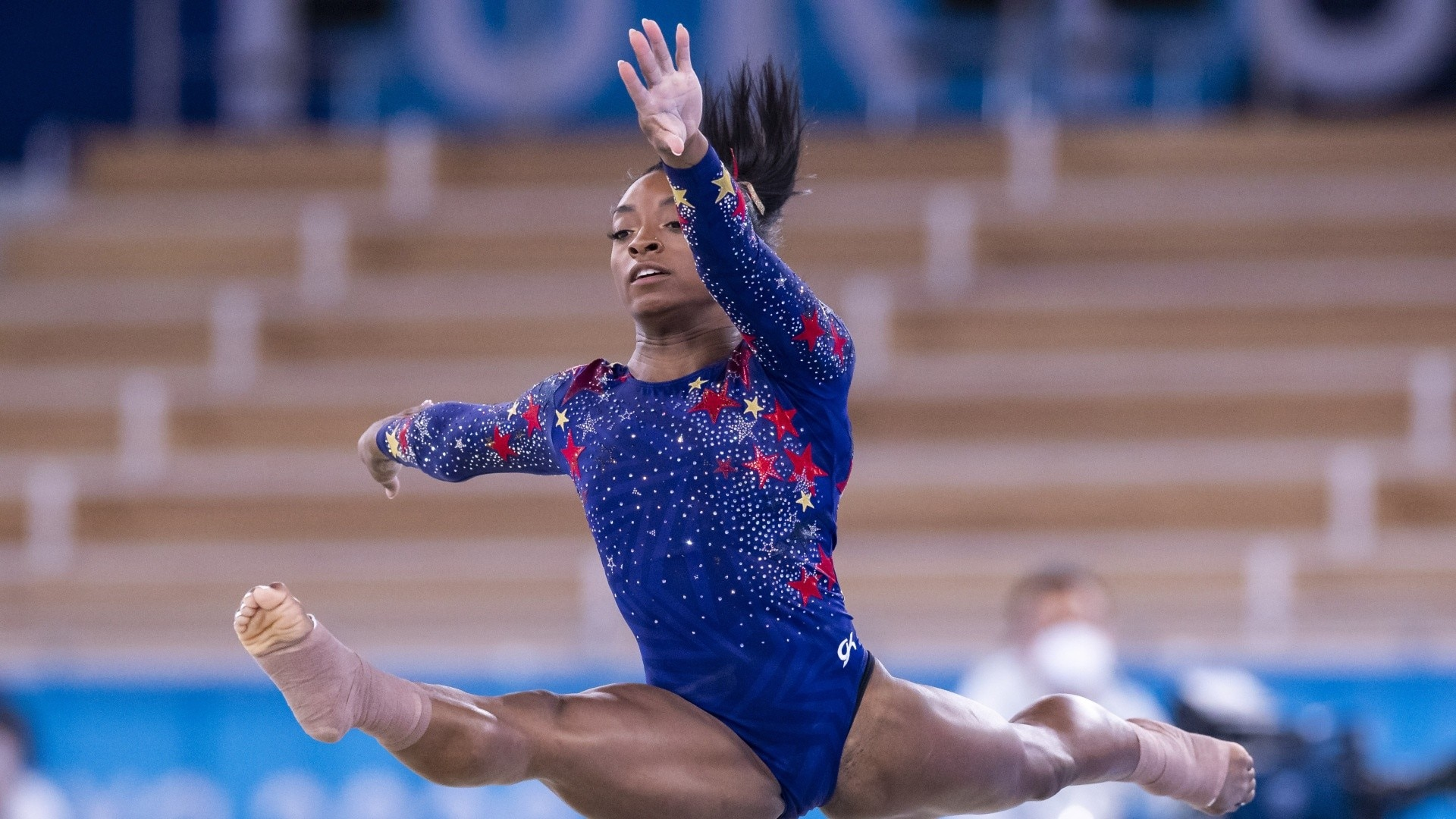 Simone Biles receives outpouring of support from Olympians, celebrities